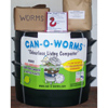 Can-O-Worms (With 2lbs of Worms, 7lbs Feed Supply & DVD)